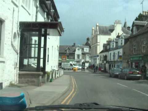 Perthshire, Scotland Drive: Glen Almond, Aberfeldy, Croft Moraig, Fortingall Yew.