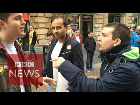Scottish Independence: 'So Much Emotion On The Streets' - BBC News