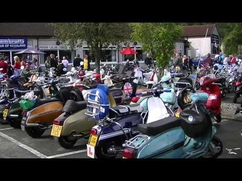 Lambretta Club Of Scotland Open Rally Aberfoyle 2011