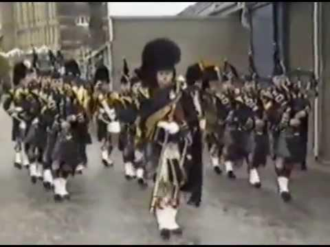 Argyll And Sutherland Highlanders Regimental Re-Union Redford Barracks Edinburgh 1984 Pt 2