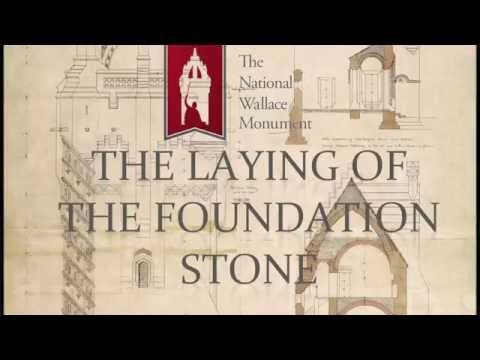 The National Wallace Monument: The Laying Of The Foundation Stone