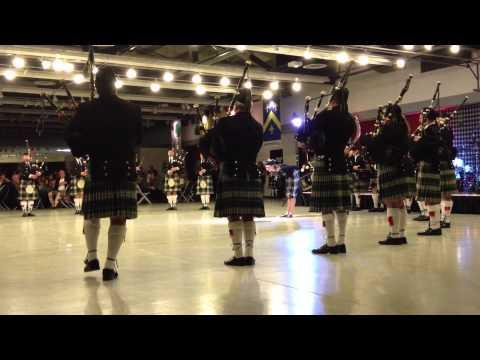 Clan Gordon Tartan Ball 2013 - Clan Gordon Pipe Band