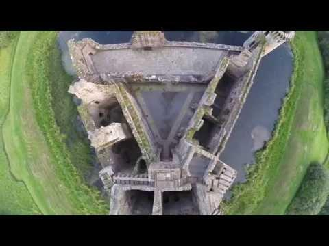 A Flight Around Caerlaverock Castle In Dumfries & Galloway