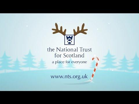 Grab Christmas By The Antlers With The National Trust For Scotland!
