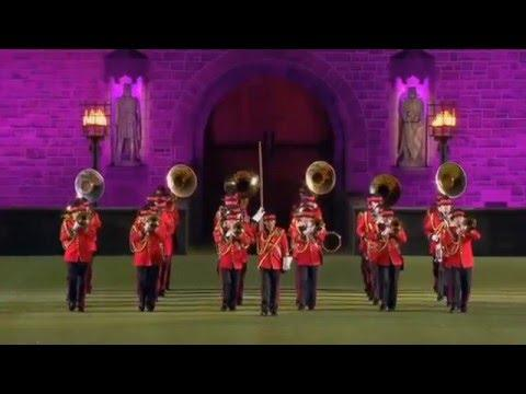 The New Zealand Army Band Royal Edinburgh Military Tattoo. Melbourne. Feb 2016