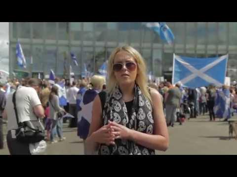 Protest Against BBC Scotland Referendum Bias 2