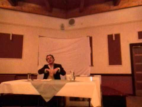 Lecture On Suffering, Old Age And Death, Mackay Hotel, Wick 2010, Part 1