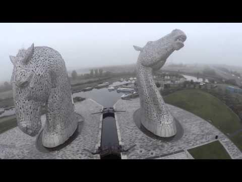 Shooting The Kelpies And The Wallace Monument