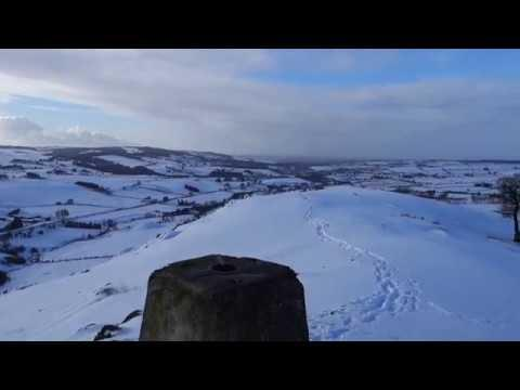 Loudoun Hill In The Snow