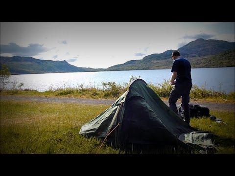 Wild Camping At Loch Katrine