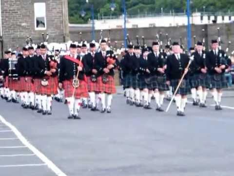 Pipes And Drums Of Waldsee, Germany And Wick, Scotland