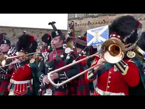 The Royal Regiment Of Scotland - 10th Anniversary Parade - The Royal Mile, Edinburgh [4K/UHD]