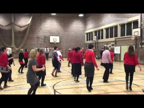 Hawick High School Staff Dance The Slosh | Hawick High News |