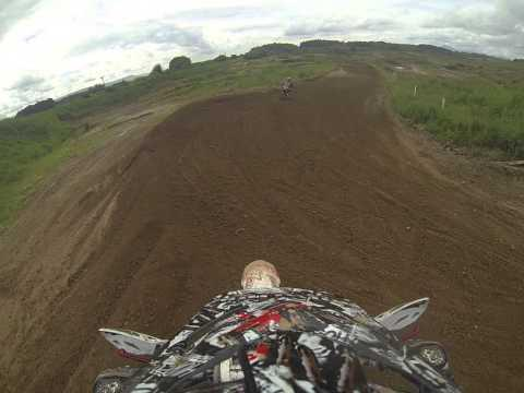 DOUNE MOTOCROSS CRF 250 FIRST TIME ON TRACK, RAY, RYAN, LEE, TOM TOM