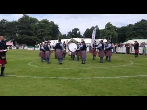 Bothwell Castle Pipe Band Europeans 2013