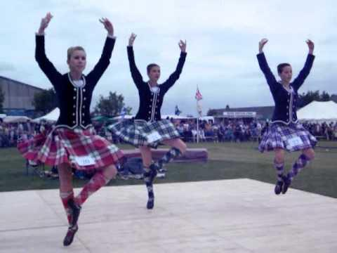 Highland Dancing At Halkirk Highland Games