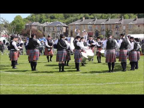 Gourock 2017 - Bothwell Castle Pipe Band