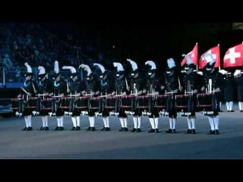 Top Secret Drum Corps Edinburgh Military Tattoo 2009