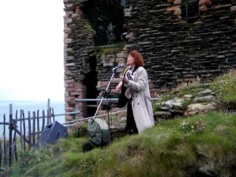 Isla St Clair Sings At Girnigoe Castle
