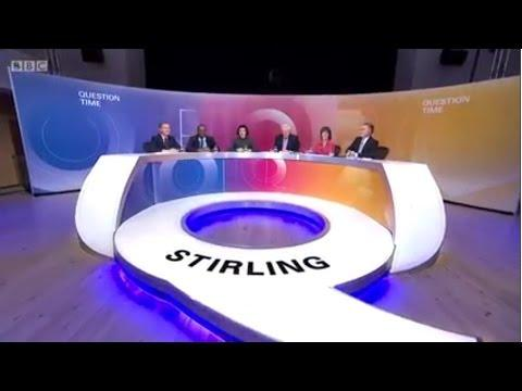17th Of November 2016 - BBC Question Time From Stirling