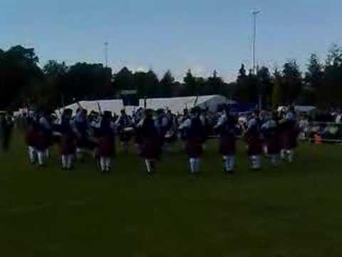 Clan Gregor Society Pipe Band-Scottish Championships,2008