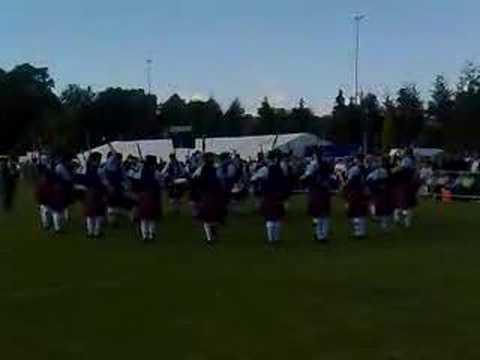 Clan Gregor Society Pipe Band-Scottish Championships,2008