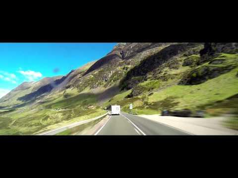 Scotland   Glencoe Drive Through