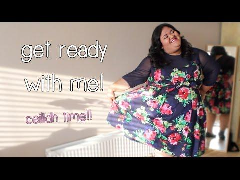 Get Ready With Me - Ceilidh/Scottish Wedding Reception Makeup & OOTD
