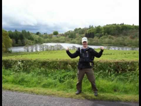 1. Etappe -West Highland Way / Milngavie- Drymen 18.Mai 2009