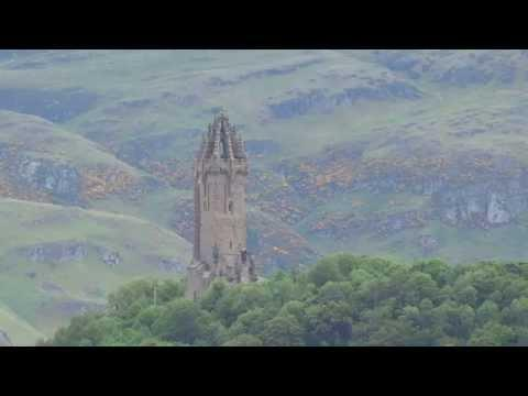 William Wallace Monument Abbey Craig Stirling Scotland