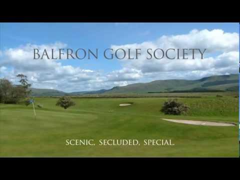 Balfron Golf Society, The Shian Course, Stirlingshire, Scotland