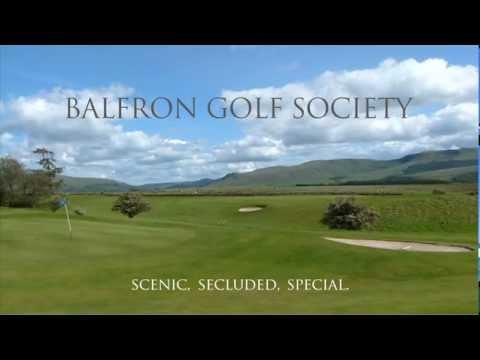 Balfron Golf Society, The Shian Course, Stirlingshire, Scotland