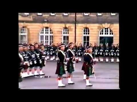 Argyll And Sutherland Highlanders  Presentation Of Colours  Redford Barracks1996