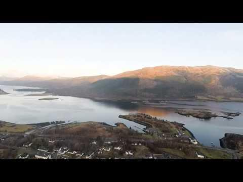 Ballachulish Brecklet Trail Aerial