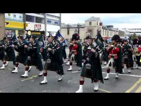 Argyll`s Farewell Parade, Stirling.