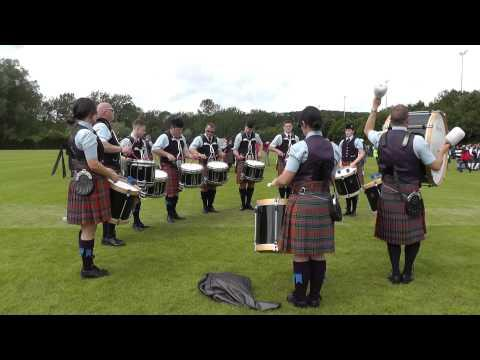 Dysart & Dundonald Pipe Band Drum Corps - European Championships 2012