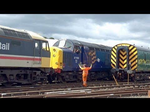 Bo'ness Railway Passing Visit