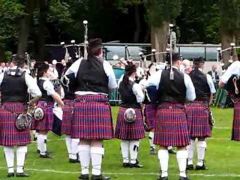 Clan Gregor Society - British Pipe Band  Championships 2008
