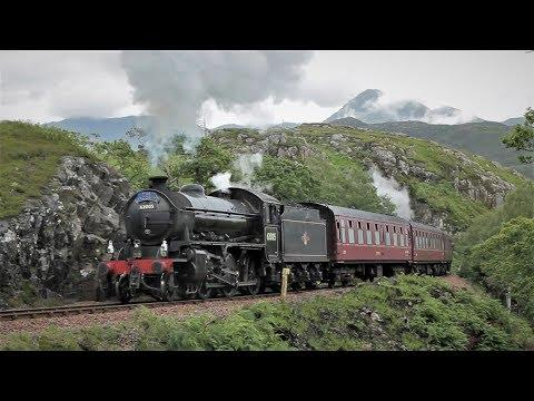 Steam In The Highlands - The Jacobite Steam Train (July 2017)
