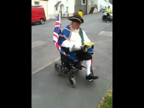 Gatehouse Of Fleet Town Crier