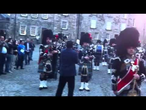 Bagpipes From Stirling Castle
