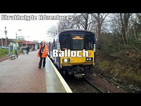 Strathclyde Adventures: Trains At Balloch