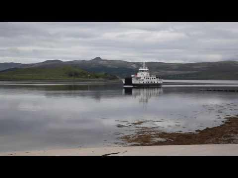 CalMac Hybrid Ferry 'Hallaig' On 100% Battery To Raasay