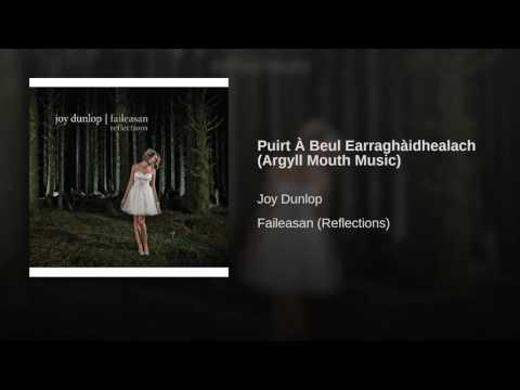Puirt À Beul Earraghàidhealach (Argyll Mouth Music)