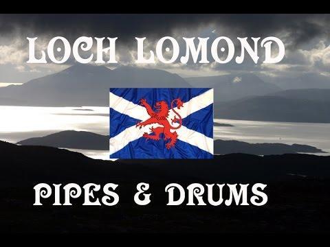 LOCH LOMOND ~ PIPES & DRUMS OF LEANISCH.