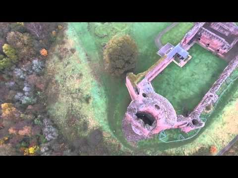 Bothwell Castle By Drone
