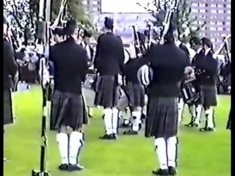 Dysart And Dundondald Pipe Band - Worlds 1990