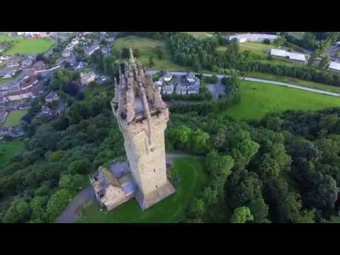 Wallace Monument Drone 31th July 2016