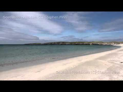 Breckon Sands Yell Shetland