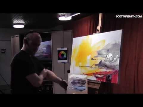 Live Painting Demo: Luskentyre, Isle Of Harris PART 2